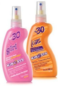 KINeSYS sunscreens