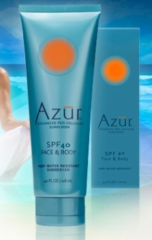 Azur natural sunscreen