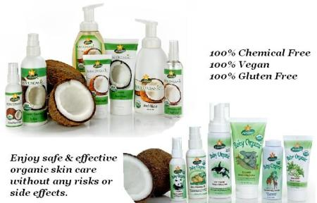 100% organic, vegan skin care for the whole family