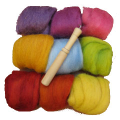 Natural Pod Felting Kit
