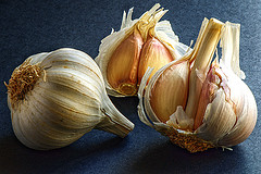 Garlic keeps you healthy!