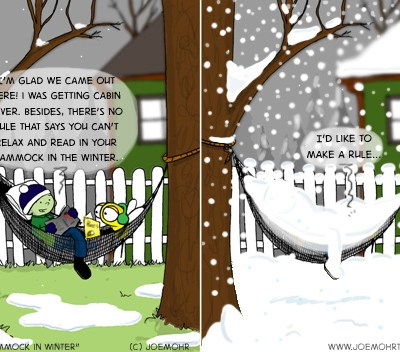 Hank D and the Bee: SNOW!