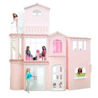 More Barbie Greenwashing:  Sustainable Dream Home