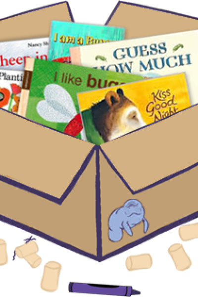 5 Green Products: Blue Manatee Boxes, Bebe au Lait, Yummi Bears Organics, Bella & Harry, B. Onesie