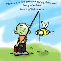 Hank D and the Bee: Bee you soon!
