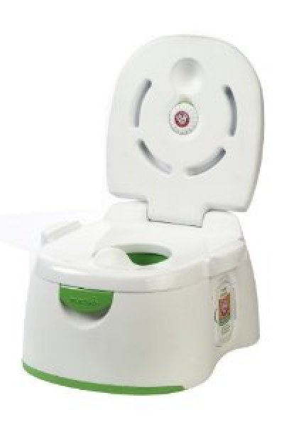 Toilet Training:  Arm & Hammer 3-in-1 Potty Seat by Munchkin