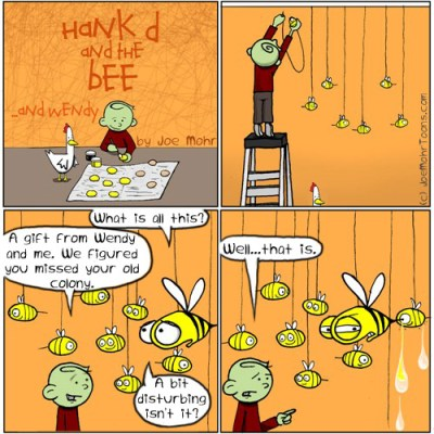 Hank D and the Bee: A Christmas gift for Bee