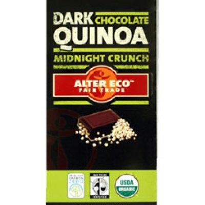 Fair Trade Holiday Sweets:  Sunspire Organic Baking Bar and Alter Eco Dark Chocolate Quinoa