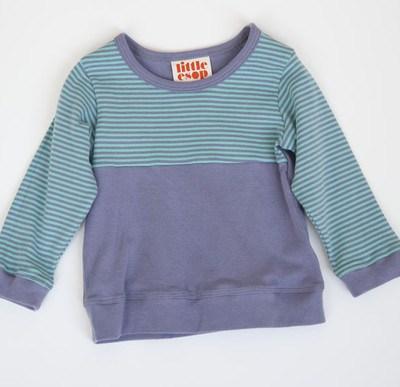 Organic Cotton Toddler Clothing:  Little Esop Building Blocks