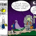 Hank D and the Bee: Scary Halloween Costumes