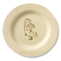 Bambu Kids:  Bamdino Bamboo Plates Alternative to Disposables