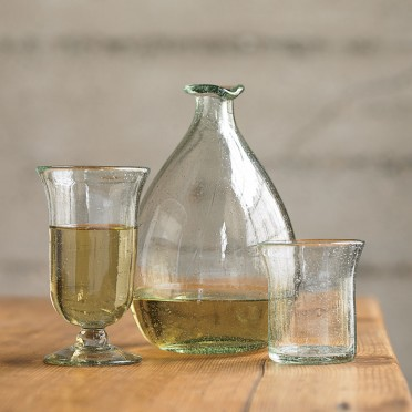 Green Gifts from VivaTerra:  Recycled Wine Decanter