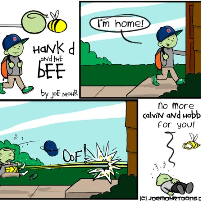 Hank D and the Bee: Calvin and Hobbes