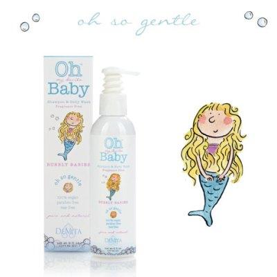 Organic Baby Care:  Oh My DeVita Baby Shampoo & Body Wash