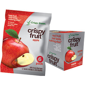 Freeze-dried, natural, gluten-free, low-calorie snacks
