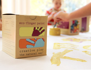 Green Art:  Eco Kids Eco-Finger Paint