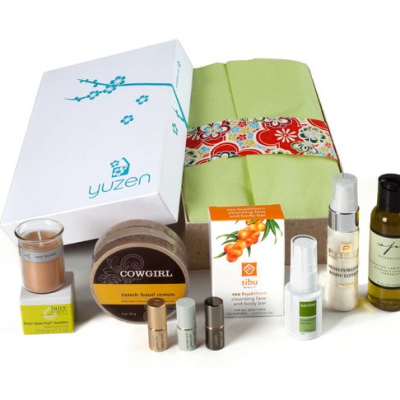 Eco-Friendly Mother's Day Gift Ideas:  Yuzen Subscription and Gift Boxes:  Send you a little Zen
