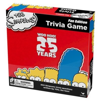 Not Green:  The Simpsons Triva Game