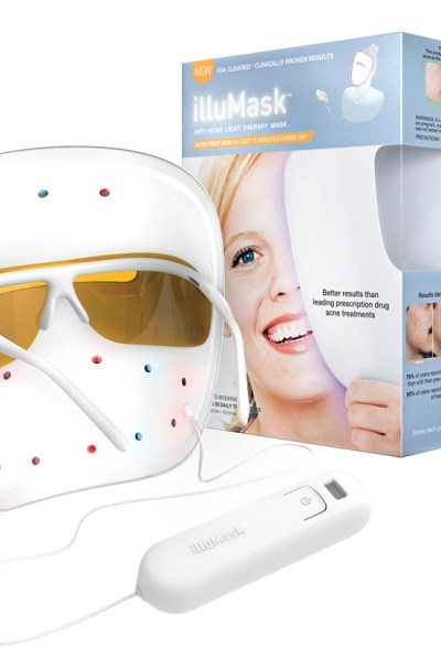 Got acne?  illuMask Anti-Acne Light Therapy Mask