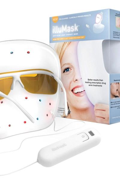 Got acne?  illuMask Anti-Acne Light Therapy Mask