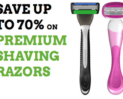 ShaveMob monthly razors in recycled packaging
