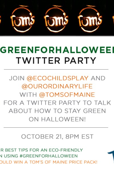 Our First Twitter Party is 10/21/14!
