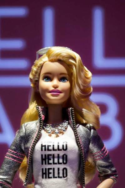 New wifi Hello Barbie doll will share your child's private thoughts with Mattel