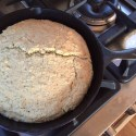 Organic, Vegan, Chia Seed Skillet Corn Bread Recipe