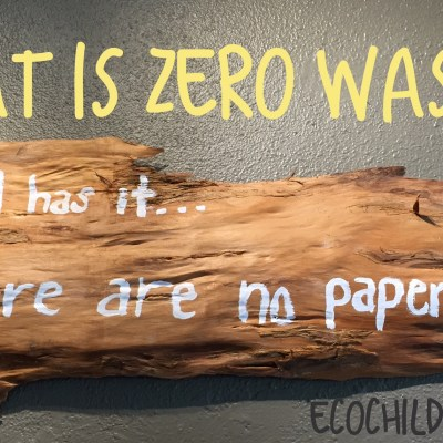 Does zero waste mean absolutely zero waste?