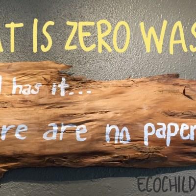 Does zero waste mean absolutely zero waste?