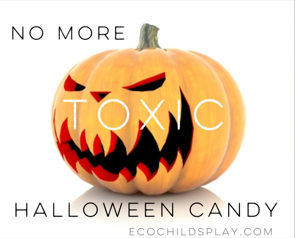 There are healthier alternatives to toxic Halloween candy.