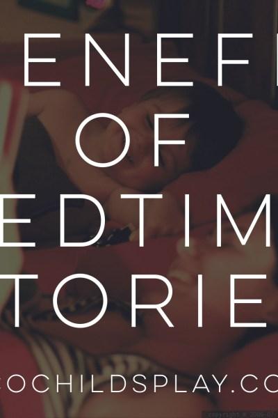 benefits of bedtime stories