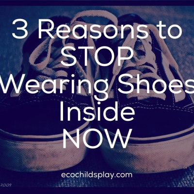 3 Reasons to STOP wearing shoes inside NOW
