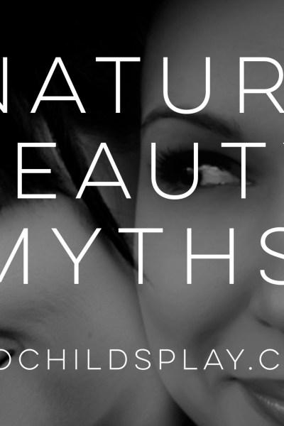natural beauty myths