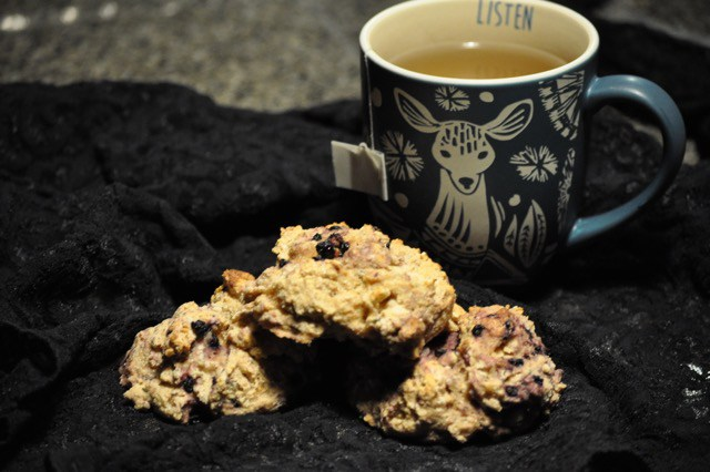 maple vegan scones