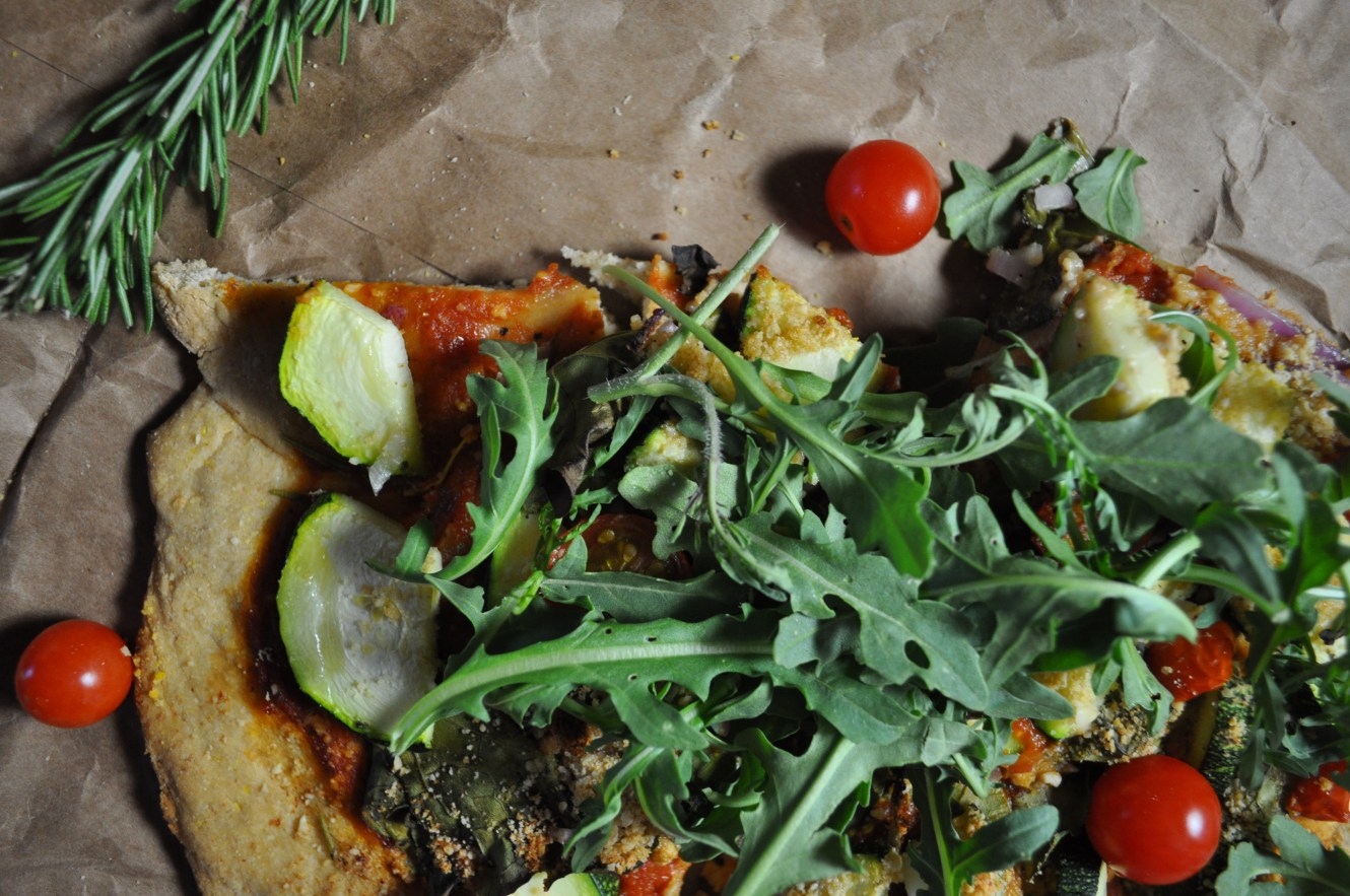 arugula pizza