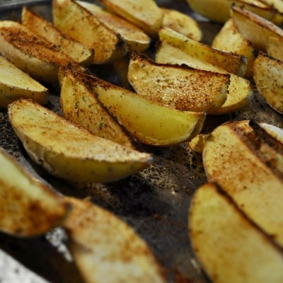 Easy Oil-Free Potato Chippies