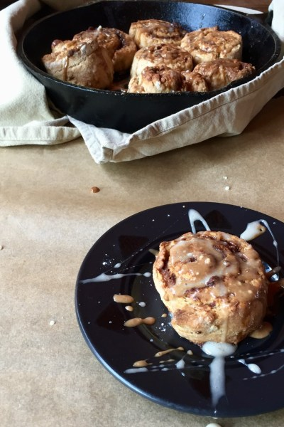 Vegan Whole Wheat Cinnamon Rolls With Date Filling