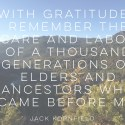 Gratitude on Labor Day