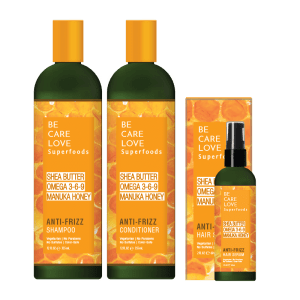 natural hair care anti-frizz