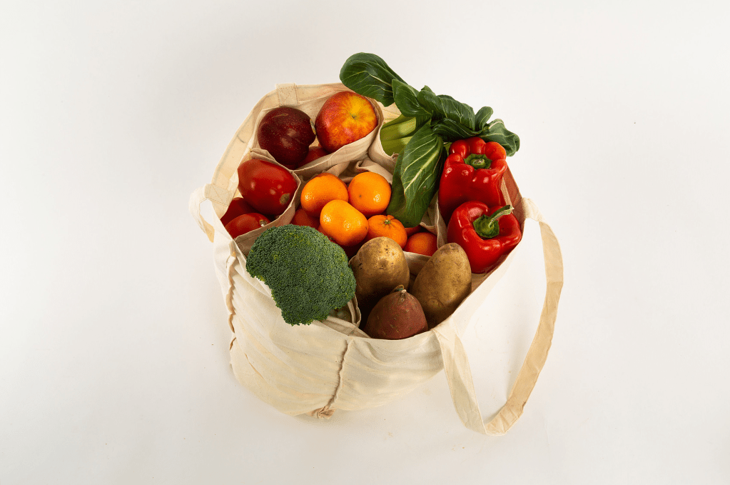 Veggie to Fridge Cloth Bags