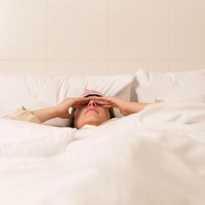 Trouble Sleeping: Try Yoga and Eating Less