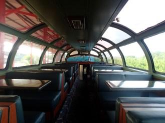 Panama Canal Railway Company, Panorama car