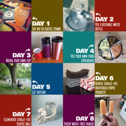 30 day zero waste instagram