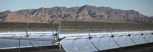 Сонячна електростанція компанії Acciona у Неваді потужність 64 МВт