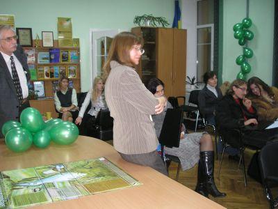 Зустріч випускників кафедри екології НаУКМА