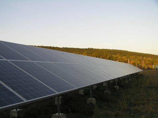 Перша черга сонячної електростанції компанії Рентехно у Вінницькій області