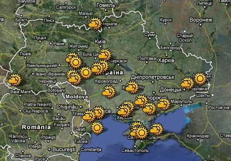 Карта сонячних електростанцій України