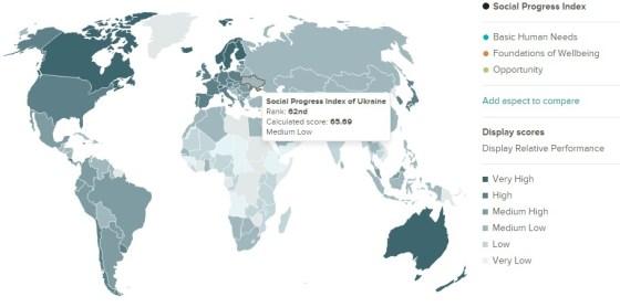 Індекс соціального прогресу