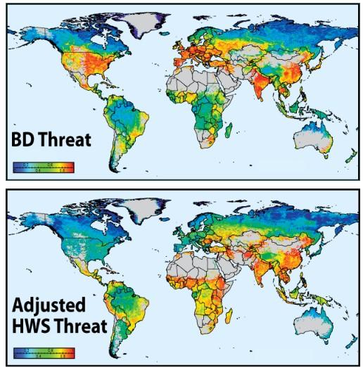 Річкові системи світу - в загрозливому стані